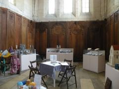 Ancien château Saint-Aubin - Français:   chapelle Château St-Aubin, Crépy-en-V