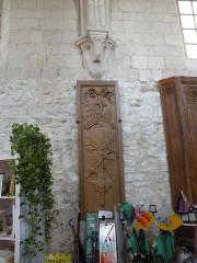 Ancien château Saint-Aubin - Français:   chapelle