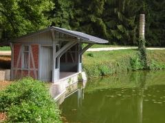 Domaine de Jean-Jacques-Rousseau -   Ermenonville  Embarcadère (XIX° siècle)