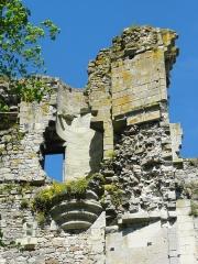 Restes du château -  Tour neuve, vestige d'échauguette.