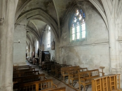 Eglise Notre-Dame de la Nativité - Français:   Collatéral nord du chœur.