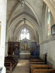 Eglise Notre-Dame de la Nativité - Français:   Collatéral sud du chœur.