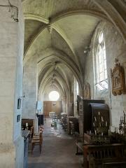 Eglise Notre-Dame de la Nativité - Français:   Croisillon nord et bas-côté nord.