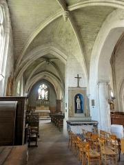 Eglise Notre-Dame de la Nativité - Français:   Croisillon nord et collatéral nord du chœur.