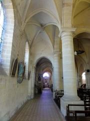 Eglise -  Intérieur de l'église Saint-Vaast de Nointel (voir titre).