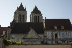 Maisons canoniales - English: Noyon; Cathédrale; Nord-Pas-de-Calais-Picardie, Oise; France; ref: PM_102964_F_Noyon; Cultural heritage; Cultural heritage/Cathedral; Europe/France/Noyon; Wiki Commons; photo: Paul M.R.Maeyaert; www.pmrmaeyaert.eu; © Paul M.R. Maeyaert; pmrmaeyaert@gmail.com
