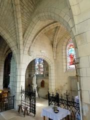 Eglise - Français:   Intérieur de l\'église (voir titre).