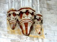 Eglise -  Chapiteaux du second ordre côté ouest.