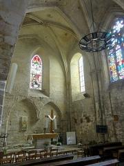 Eglise -  Chœur, côtés nord et est.