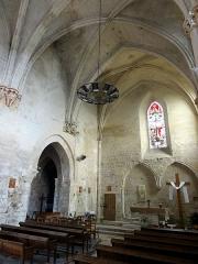 Eglise -  Chœur, côtés ouest et nord.