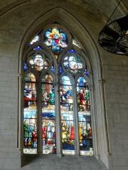 Eglise -  Fenêtre du chevet.