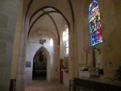 Eglise Saint-Crépin et Saint-Crépinien - Français:   Intérieur de l\'église Saint-Crépin-et-Saint-Crépinien de Saint-Crépin-Ibouvillers