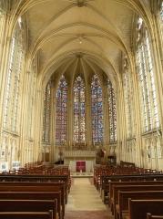 Eglise et chapelle - Français:   Abbaye Saint-Germer-de-Fly, Sainte chapelle