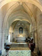 Eglise - Français:   Chœur sud.