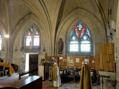 Eglise - Français:   Nef nord, 3e et 4e travée, côté nord.