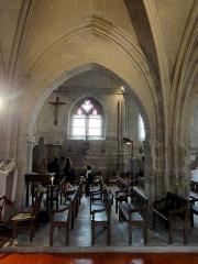 Eglise - Français:   Nef nord, 3e grande arcade.