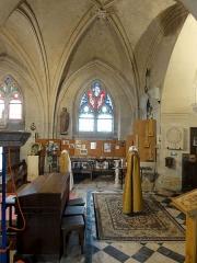 Eglise - Français:   Nef nord, 4e travée, côté nord.