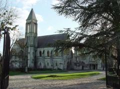 Ancienne abbaye Saint-Vincent - Français:   Abbaye Saint-Vincent à Senlis, France
