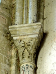 Ancienne abbaye Saint-Vincent -  Voir titre.