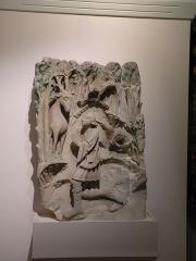 Ancien château royal, prieuré Saint-Maurice et mur gallo-romain - Français:   vision de saint hubert  Musée de la Vénerie (Senlis)