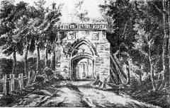 Ancien château royal, prieuré Saint-Maurice et mur gallo-romain - Français:   L\'ancienne porte Bellon, rue Bellon, au nord-est de la ville.