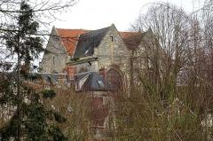 Eglise Saint-Aignan - Français:   Ancienne église Saint-Aignan, vue depuis le sud-ouest.