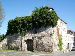 Enceinte gallo-romaine - Français:   Vestiges de la bastion de la porte de Paris et de la tour Billebaude.