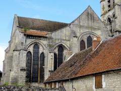 Eglise Saint-Pierre et Saint-Paul -  Chapelle sud et chœur, vue depuis l'est.