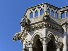 Ancienne cathédrale, actuellement église Notre-Dame, et cloître - Deutsch: Wasserspeier am Nordwestturm der Kathedrale Notre-Dame von Laon, Picardie, Frankreich