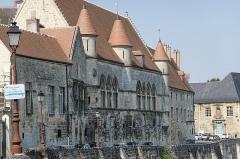 Ancien évéché et chapelle - English: Palais épiscopal de Laon, Laon, France