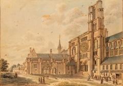 Ancien évéché et chapelle - English: Palais episcopal of Laon (Bishop's house)