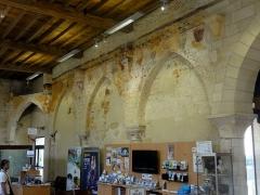 Ancien Hôtel-Dieu - Salle des malades de l'hôtel-Dieu de Laon - voir le titre du fichier.
