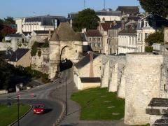 Porte d'Ardon - English: Ardon's gate and Laon's walls, Aisne, France