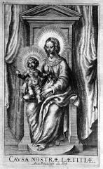Basilique Notre-Dame - Français:   Histoire de Notre Dame de Liesse par Edmé Moreau