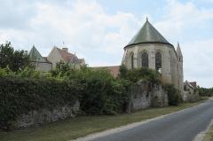 Ancienne commanderie de templiers de Moisy - Deutsch: Kapelle der Templerkomturei Moisy-le-Temple in der Gemeinde Montigny-l'Allier im Département Aisne (Region Hauts-de-France/Frankreich)