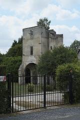 Ancienne commanderie de templiers de Moisy - Deutsch: Templerkomturei Moisy-le-Temple in der Gemeinde Montigny-l'Allier im Département Aisne (Region Hauts-de-France/Frankreich), Torhaus