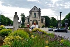 Ancienne église Saint-Pierre-au-Parvis - Deutsch: Facade of the Church of St. Peter at the Courtyard, Soissons, Département Aisne, Region Oberfrankreich (ehemals Picardie), Frankreich