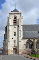 Eglise du Saint-Sépulcre - Français:   Eglise du St Sépulcre à Abbeville, Somme, France