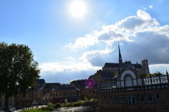 Cathédrale Notre-Dame - Le paysage avec la Cathédrale d'Amiens