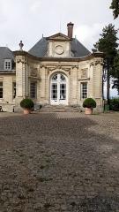 Ancien évéché - Français:   Palais épiscopal d\'Amiens, façade du vestibule 1