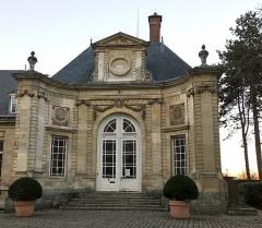 Ancien évéché - Français:   Palais épiscopal d\'Amiens, façade du vestibule 2