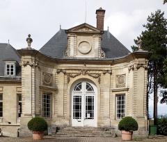 Ancien évéché - Français:   Palais épiscopal d\'Amiens, façade du vestibule 4