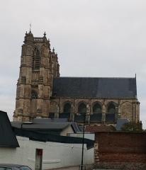 Ancienne abbaye - Abbatiale Saint-Pierre de Corbie extérieur, côté sud 1
