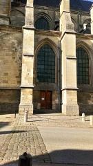 Ancienne abbaye - Abbatiale Saint-Pierre de Corbie, façade méridionale (2)