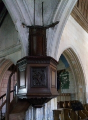 Eglise Notre-Dame de l'Assomption - Corbie, église de La Neuville, chaire 1