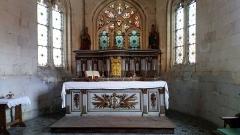 Eglise Notre-Dame de l'Assomption - Corbie, église de La Neuville, chœur 7 b