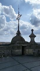 Eglise Saint-Pierre (ancienne abbatiale) - Abbatiale Saint-Pierre de Corbie extérieur, sommet de la tour sud 1