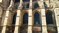 Eglise Saint-Pierre (ancienne abbatiale) - Abbatiale Saint-Pierre de Corbie, façade méridionale (3)
