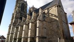 Eglise Saint-Pierre (ancienne abbatiale) - Abbatiale Saint-Pierre de Corbie, façade méridionale (4)