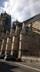 Eglise Saint-Pierre (ancienne abbatiale) - Abbatiale Saint-Pierre de Corbie, façade méridionale (6)